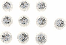 MagiDeal 10 Stück wasserdichte LED Lampe