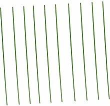 MagiDeal 10piece Garten Rebe Pflanze Unterstützung Klettern Blume Stab Pflanzstützen Pflanzstab - 16mm