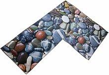 MagiDeal 2 Stück Badvorleger Fußmatte Teppich,