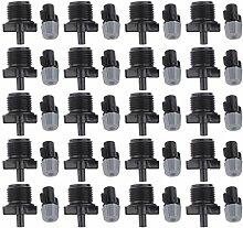 MagiDeal 20 Sätze Schraube Anlage Beschlagen Zerstäubungsdüse Wassersprüher Sprinkler Grau