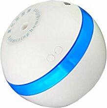MagiDeal 2W Tragbaren USB Luftbefeuchter Aromatherapie Diffusor Luft Zerstäuber Weiß Kugel