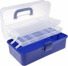 MagiDeal 3 Ebenen Plastik Aufbewahrungsbox mit
