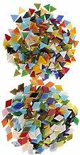 MagiDeal 600 Stücke Sortierte Farbe Glas Mosaik