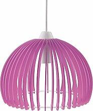 MagiDeal Acryl blätter DIY Puzzle Lampe Lampenschirm Deckenlampe Schirm - Farbe Auswählen - Lila