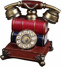 MagiDeal Alt Telefon -Design Münze Bank Geld