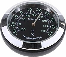 MagiDeal Autothermometer Analog Legierung,