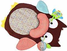 MagiDeal Babydecke Krabbeldecke Babyspielauflage Krabbelmatte Spielmatte Erlebnisdecke