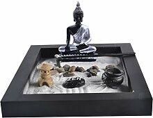 MagiDeal Deko Zen Garten Sand Set ,
