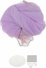 MagiDeal Dome Spitze Prinzessin Moskitonetz Fliegen Insektenschutz Bett Überdachung Vorhang - Lila