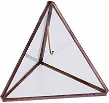MagiDeal Dreieck Pyramide Geometrisches Glas
