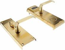 MagiDeal Edelstahl Hotel Wohnung karte Intelligente Tür Schloss,zwei Farbwahl,240x77x25mm - Gold