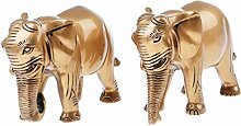 MagiDeal Elefant Handwerk Ornamente Feng Shui