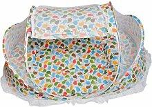 MagiDeal Faltbare Moskitonetz Insektenschutz Zelt für Kinderzimmer Hause Reise im Sommer - Bun