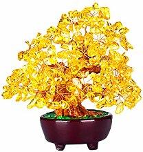MagiDeal Feng Shui Glücksbaum Mini Kristall