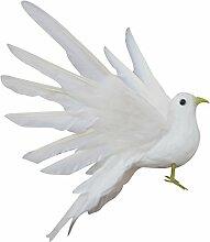 MagiDeal Garten Landschaft Künstliche Vogel