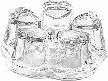 MagiDeal Glas Untersetzer mit Teelicht Teewärmer