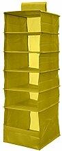 MagiDeal Hängeregal 6 Fächer , Stoffregal Regal Organizer für Schrank Kleiderschrank Wäschesortierer