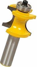 MagiDeal Hartmetall Fräser Spiralbohrer Multifunktionswerkzeug Oberfräser Holzfräser - 15,9 mm