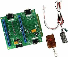 MagiDeal Jamma 2 In 1 Switcher/Splitter Multi Mit Fernbedienung GBS-8118 Arcade Game PCB