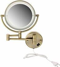 MagiDeal Kosmetikspiegel mit LED Beleuchtung und