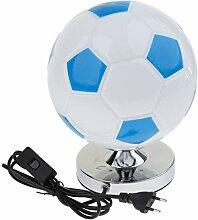 MagiDeal Kreative Fußball-Lampe Tischleuchte
