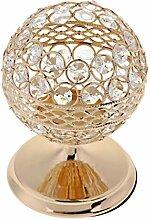 MagiDeal Kristall Teelichthalter Kerzenständer in