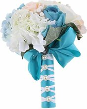 MagiDeal Künstliche Blumenstrauß Kunstblumen