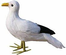 MagiDeal Künstliche Vögel Feder Realistische