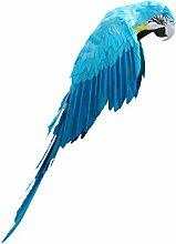 MagiDeal Künstliche Vögel Fliegen Papagei