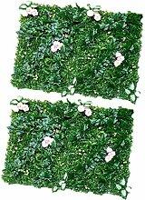 MagiDeal Künstlicher Rasen Grün Rasenteppich