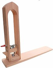 MagiDeal Leder Handwerk Halteclip Holz Werkzeuge