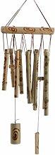 MagiDeal Natürliche Bambus Windspiel Garten Hängende Mobile Dekoration Rohre, 8 Form zum auswählen - #3