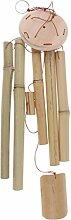MagiDeal Natürliche Bambus Windspiel Garten Hängende Mobile Dekoration Rohre, 8 Form zum auswählen - # 7