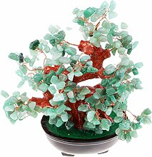 MagiDeal Natürliche Kristall Edelstein Bonsai