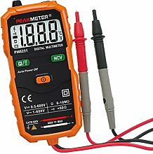 MagiDeal Pm8231 Digital Multimeter Handheld mit Hintergrundbeleuchtung AC / DC Amperemeter Spannungsmesser Volt Tester