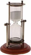 MagiDeal Sanduhr Sandglas 15 Minuten Timer Dekoration -12 x 18,5 cm