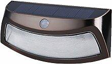 MagiDeal Solarleuchte 8 LED Solarlampe,