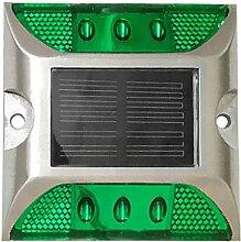 MagiDeal Solarleuchten Solar Bodenstrahler Bodenleuchte Solarleuchte Solarlampe Gartenleuchte Außenleuchte Teichbeleuchtung - Grün