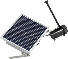 MagiDeal Solarpumpe Teichpumpe, Springbrunnen Pumpe, Solar Wasserpumpe Fontäne Pumpe für Gartenteich Springbrunnen - 10W 17V