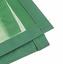 MagiDeal Vogelkäfig Form Magnetische Magnetvorhang Insektenschutz Türvorhang Fliegen Fliegeninsekten Maget Tür Vorhang , 100x210cm - Grün, 100cmx210cm