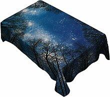 MagiDeal Wasserdichte Tischdecke Polyester