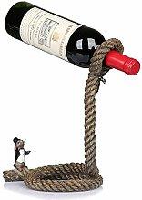 Magier Weinregal Einfacher europäischer Seil