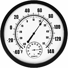 Magiin Dekorative Temperatur-Feuchtetester,