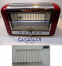 MAGIMIX TOASTER VISION RED INCLUDED OF 1 GRILL