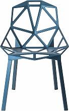 Magis - Chair One Stapelstuhl, blau