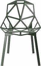 Magis - Chair One Stapelstuhl, graugrün