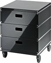 Magis - Plus Unit Rollwagen AC405, anthrazitgrau