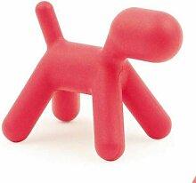 Magis Puppy Medium Rot Kinderstuhl