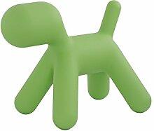 Magis Puppy XL Hund, grün Kunststoff LxBxH 102x61,5x81cm