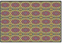 Magische Fußmatten für Zuhause, Psychedelic,